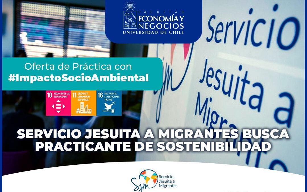 Servicio Jesuita a Migrantes busca practicante de sostenibilidad